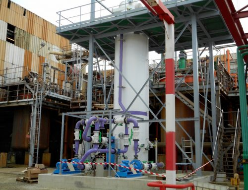 Start-up of a complex air treatment unit after a refining line of nickel in Normandy (France)!